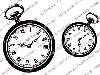 Click here for larger picture - Pocket Watches Clear Stamp  £6.00