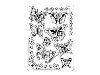 Click here for larger picture - Multi Grid 17 - Butterflies (PG31427)  £9.95