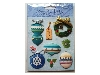 Click here for larger picture - Embellishments - 3D Adhesive Christmas Decorations (DS63)  £1.79
