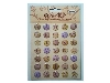 Click here for larger picture - Embellishments - Epoxy Adhesive Capital Letters - Full 26 (EP037)  £1.75