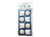 Click here for larger picture - Embellishments - Doves And Flowers (W48)  £1.29