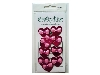 Click here for larger picture - Embellishments - Pink Foiled Hearts With Gem Bows (VS26)  £1.29