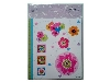 Click here for larger picture - Craft House Die Cuts - Flowers And Hearts - (3 Sheets) - C7DC10  £1.49