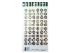 Click here for larger picture - Antique Button Alphabets 3D Epoxy Stickers (ESTK-ROY-3538)  £1.00