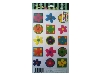 Click here for larger picture - Funky Flowers 2 3D Epoxy Stickers (ESTK-ROY-3532)  £1.00