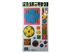 Click here for larger picture - Funky Flowers 3D Epoxy Stickers (ESTK-ROY-3533)  £1.00