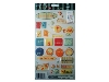Click here for larger picture - Summertime Sentiments 3D Epoxy Stickers (ESTK-ROY-3553)  £1.00
