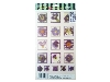 Click here for larger picture - Violet Flowers 2 3D Epoxy Stickers (ESTK-ROY-3525)  £1.00