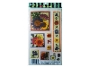 Click here for larger picture - Bright Flowers 3D Epoxy Stickers (ESTK-ROY-3528)  £1.00