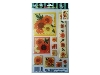 Click here for larger picture - Orange Flowers 3D Epoxy Stickers (ESTK-ROY-3518)  £1.00