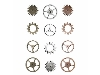 Click here for larger picture - Tim Holtz Idea-ology Findings - Sprocket Gears (12 Pk.) (ADTH92691)  £4.99
