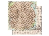 Click here for larger picture - Prairie Chic Chevron Paper. (BB14101668)  £0.95