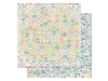 Click here for larger picture - Prairie Chic Dot Paper. (BB14101671)  £0.95