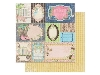 Click here for larger picture - Prairie Chic Flea Market Finds Paper.  (BB14101672)  £0.95