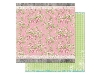 Click here for larger picture - Prairie Chic Rambling Rose Paper.  (BB14101675)  £0.95