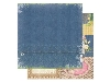 Click here for larger picture - Prairie Chic Stonewashed Denim Paper. (BB14101676)  £0.95