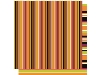 Click here for larger picture - Halloween Stripe - Double Sided - Acid And Lignin Free (BCGP094) £1.00