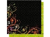 Click here for larger picture - Halloween Scrolls - Double Sided - Acid And Lignin Free (BCGP319) £1.00