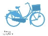 Click here for larger picture - Creatables - Bicycle (MDLR0233) £8.99