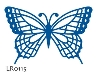 Click here for larger picture - Creatables - Butterfly (MDLR0115) £7.99