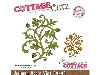 Click here for larger picture - CottageCutz Dies - Autumn Acorn Vine  £14.99