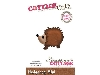 Click here for larger picture - CottageCutz Dies - Hedgehog, Mini  £4.99