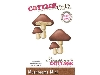 Click here for larger picture - CottageCutz Dies - Mushrooms, Mini  £4.99