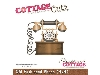 Click here for larger picture - CottageCutz Dies - Old Fashioned Phone  £14.99