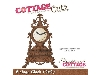 Click here for larger picture - CottageCutz Dies - Vintage Clock  £14.99
