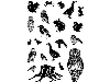 Click here for larger picture - Cling Stamp Set - Forest Friends (CDCCSTFOR-01) £8.99