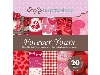 Click here for larger picture - Crafty Impressions 6X6 20 Sheet Patterned Paper Pad - Forever Yours (CIFYPD002) £3.99