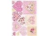 Click here for larger picture - Die-Cut A4 Hearts Topper (CIRMDC001) £1.49