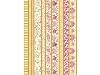 Click here for larger picture - Die-Cut A4 Folied Ribbon Patterned Borders (CIRMDC002) £1.49