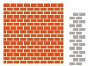 Click here for larger picture - Design Folder With Die - Bricks (MDDF3403) £8.99