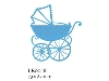 Click here for larger picture - Creatables - Baby Carriage (MDLR0218) £8.99