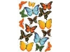 Click here for larger picture - Butterfly Sticker Sheet (M860505) £2.99
