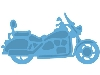 Click here for larger picture - Creatables - Motorcycle (MDLR0287) £7.99