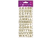Click here for larger picture -  Eleganza Bold Alphabet Set Gold No.65 (OA025810) £0.95