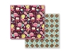 Click here for larger picture - Prima - So Cute - Argyle - 12x12  £1.10