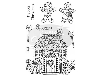 Click here for larger picture - Gingerbread House Clear Stamp (SDCSA60100 £4.29