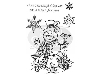 Click here for larger picture - Jolly Snowman Clear Stamp (SDCSA6014) £4.29