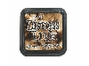 "Click here for larger picture - Tim Holtz Distress Ink Pads - 3 x 3"" Walnut Stain £4.95"