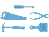 Click here for larger picture - Creatables - Tool Set (MDLR0288) £8.99