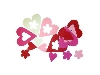 Click here for larger picture - Creative Hands - 3D Foam Love / Flowers (FC1624)  £2.99