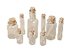 Click here for larger picture - Tim Holtz Idea-ology Findings - Corked Vials (9 Bottles) (ADTH92899)  £5.75