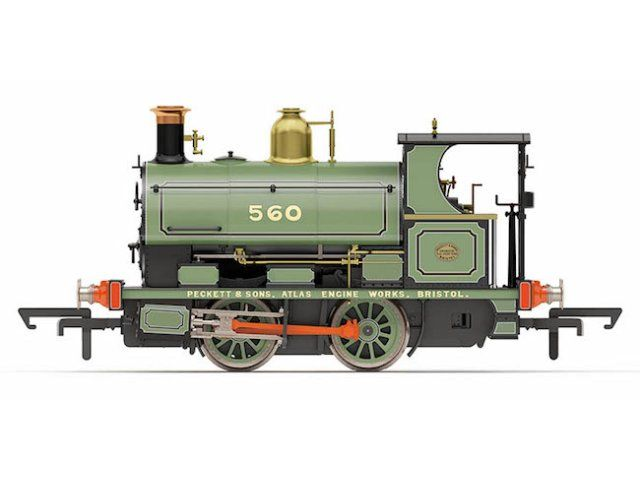 "Peckett Works Livery ""No. 560"" (R3615) - £79.99"