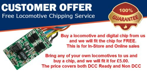Get your locos chipped for free in Cardiff